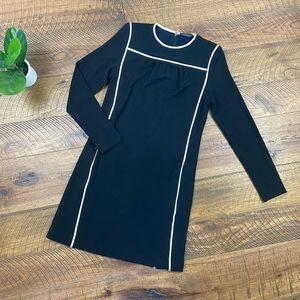 ELIE TAHARI Long Sleeve Tunic Dress S